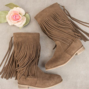 Joyfolie Willow Suede Boots New